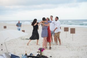 Beach proposal signs Gold Coast